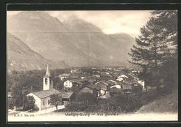 CPA Martigny-Bourg, Vue Generale, Blick über Den Ort - VS Valais