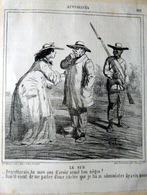 ESCLAVAGE AMERICAIN NEGRITUDE GUERRE SECESSION 3 LITHOGRAPHIES 1860 - Livres, BD, Revues