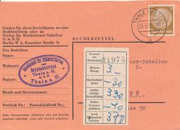 THALE - 1939 , Bücherzettel - Germania