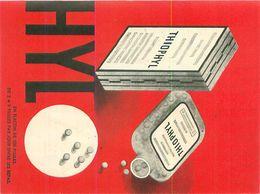 Publicité -     Depliant   ,Traitement De Lafuronculose , Thiophyl - Publicité