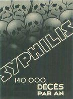 Publicité -     Syphilis -  Trio Lamo  ,Etablissement Des Produits LAMO - Publicidad