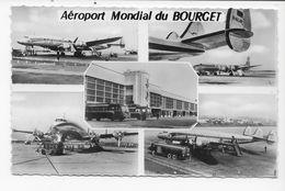 93   LE BOURGET  AEROPORT  MONDIAL   MULTIVUES  TRES    BON ETAT 2 SCANS - Le Bourget