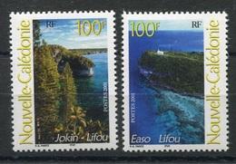 RC 8278 NOUVELLE CALÉDONIE N° 857 / 858 PAYSAGES NEUF ** - Nueva Caledonia