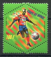 RC 8281 NOUVELLE CALÉDONIE N° 868 FOOTBALL COUPE DU MONDE 2002 NEUF ** - Nueva Caledonia