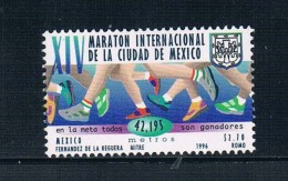 AG0787 Mexico 1996 Mexico City Marathon Long Distance Race 1 All 0922 - Stamps