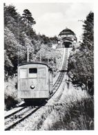 FOTO ORIGINALE-TRAIN DE ROUE D ENGRENAGE AVEC STATION KONIGSTUHL -9/6CM - Treni