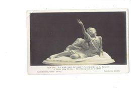 Cpa - Salon 1899 - LE MARTYRE DE SAINT PANCRACE Par A. Besqueut - Enfant Lionne ? - Sculptures