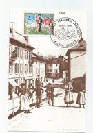 74 Haute Savoie Cpm  Repro Cran Gevrier Cachet Journée Regionale Jeunesse 1985 Timbre Peynet - France