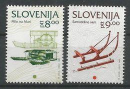 Slovénie 1993 63-64 ** Moulin Traîneau - Slovénie