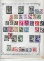 Belgique - Collection Vendue Page Par Page - Timbres Oblitérés / Neufs * - B/TB - Belgique