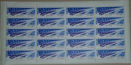 1964, Russia, Stamp, SHEET, Space, Astronaut, Flight Of Three Cosmonauts, Small Sheet - 1923-1991 URSS