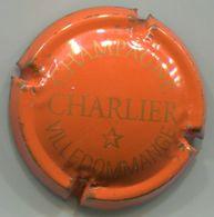 CAPSULE-CHAMPAGNE CHARLIER N°12 Orange & Or - Charlier