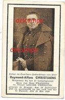 OORLOG GUERRE Raymond Christiaens Brugge Soldaat 4 Linie Gesneuveld Te Hasselt 12 Mei 1940 Versluys - Devotion Images