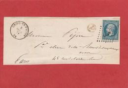 Oise - Crépy En Valois - PC 1028 Sur N°14 - Boite Rurale - Sur Grand Fragment - - Marcophilie (Lettres)