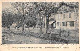 Lons Restaurant Du Tramway Carrosserie Bouveret Avenue De Coliège BF 549 - Lons Le Saunier