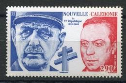 RC 8295 NOUVELLE CALÉDONIE N° 1054 DE GAULLE LA V REPUBLIQUE NEUF ** - Unused Stamps
