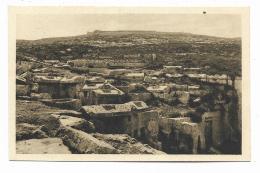 CIRENE - NECROPOLI SETTENTRIONALE , UN GRUPPO DI SARCOFAGI TAGLIATI NELLA ROCCIA  - NV FP - Libya