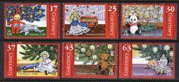 GUERNSEY GB - 1998 CHRISTMAS COMPLETE SET (6V) SG 810-815 FINE MNH ** - Puppets