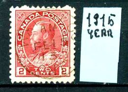 CANADA - Year 1915 - Usato - Used - Utilisè - Gebraucht. - 1911-1935 Regno Di George V