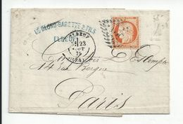 ELBEUF  (76) : CERES N° 38 - 40 Centimes  1875 - 1849-1850 Ceres
