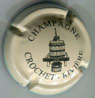 CAPSULE-CHAMPAGNE CROCHET-RIVIERE N°01 Crème - Champagne