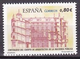 2011,  Spanien, 4614, Architektenkörperschaft Der Finanzbehörde. Arquitecto Corporación De La Autoridad Fiscal, MNH ** - 2011-... Nuevos & Fijasellos
