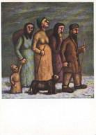 Fiorenzo Tomea - Profughi 1945 - Pittura & Quadri