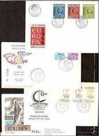 1966 Europa CEPT Europe ANNATA COMPLETA YEAR 19 Paesi Su 19 FDC - Europa-CEPT