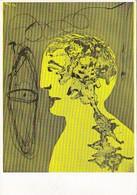 Enrico Baj - Pensieri Gialli 1953 - Pittura & Quadri