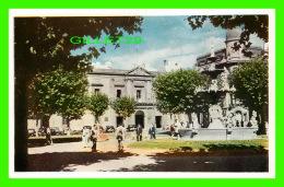 MONTEVIDEO, URUGUAY - PLAZA CONSTITUCION, EN EL FONDO, EDIFICIO DEL CABILDO - - Uruguay