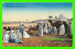 ALGÉRIE - CAMPEMENT DE NOMADES - ÉDITEURS, LEHNERT & LANDROCK - - Algérie