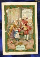 Chromo Au BON MARCHE Bm230 MINOT JOUET XVIII ROMANTISME Toys Romantism 1895' - Au Bon Marché