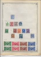 Grande Bretagne - Collection Vendue Page Par Page - Timbres Oblitérés / Neufs * - B/TB - Grande-Bretagne