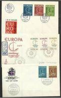 1966 Europa Cept 3 Serie: CIPRO, ISLANDA., PORTOGALLO Su 3 FDC - Europa-CEPT