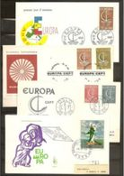 1966 Europa CEPT Europe ANNATA  YEAR 13 FDC Andorra, Belgio, Germania, Francia, Grecia, Italia, Lussemburgo, Monaco..... - Europa-CEPT