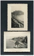 Granville - 2 Photographies - 8 X 10.5 Cm - Noir & Blanc - Places