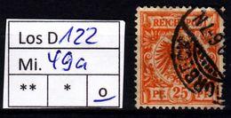 Los D122: DR Mi. 49 A, Gest. - Deutschland