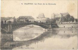 Nantes - Le Pont De La Rotonde - Nantes