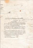 1847 - INSTITUT ROYAL Des SOURDS-MUETS De Paris - Bourse Entière Accordée à Un élève - Documenti Storici