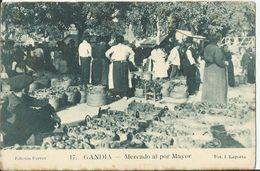 """Gandia. """"Valencia""""  Mercado Al Por Mayor - Valencia"""