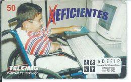 Enfant Santé - Rare Télécarte Brésil 10 000 Ex Phonecard  (D 288) - Brésil