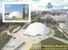 2011,  Spanien, 4637 Block 215, EXFILNA 2011, Valladolid. MNH ** - 2011-... Unused Stamps