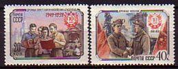 RUSSIA - UdSSR - 1959 - 10ans De La Republique China - 2v** - 1923-1991 URSS