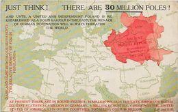 CPA Pologne Poland Polen Polska Circulé Croatie Lituanie Maps Voir Scan Du Dos - Poland