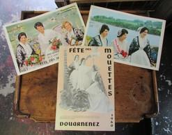 Fête Des Mouettes - Douarnenez Finistère Bretagne - Lot De 3 Anciens Programmes (1960, 1963, 1965) - Programmes