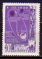 RUSSIA - UdSSR - 1959 - Sonde Lunik 3 - 1v** - 1923-1991 URSS
