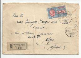 TRIESTE  : LETTRE RECOMMANDEE 1930  ( LEGION ETRANGERE ) - 1900-44 Victor Emmanuel III