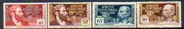 Colonies Françaises - (Afrique Equatoriale Française) - 1937-42 - N° 43 à 49 - (4 Valeurs Différentes) - A.E.F. (1936-1958)