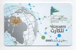 Used Phonecard 2017 Lebanon , Liban Telecarte  Libanon - Lebanon