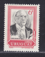 URUGUAY N°  784 ** MNH Neuf Sans Charnière, TB (D6527) Président Tomas Berreta - Uruguay